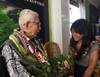 Yosi with Madoka Nagado.